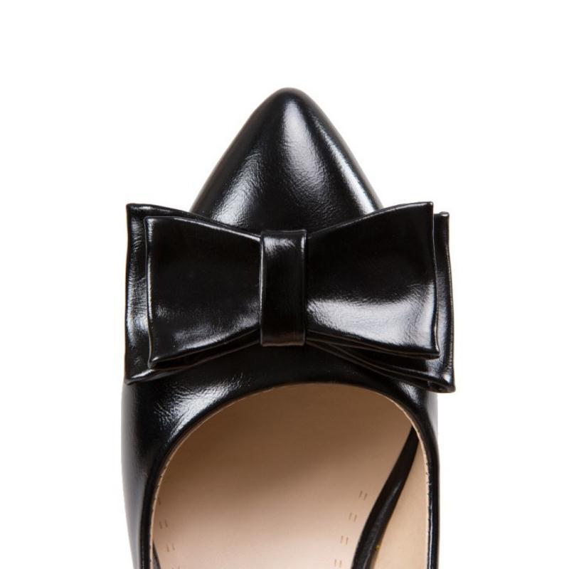 Estrecha Alto Primavera De Punta Kaizikarzi Altos Zapatos Elegante Mujeres Rhinestone Nueva on Bombas Tamaño Las 43 32 Tacón Tacones Beige Bowtie rosado Slip Señoras negro a4xpOwfq