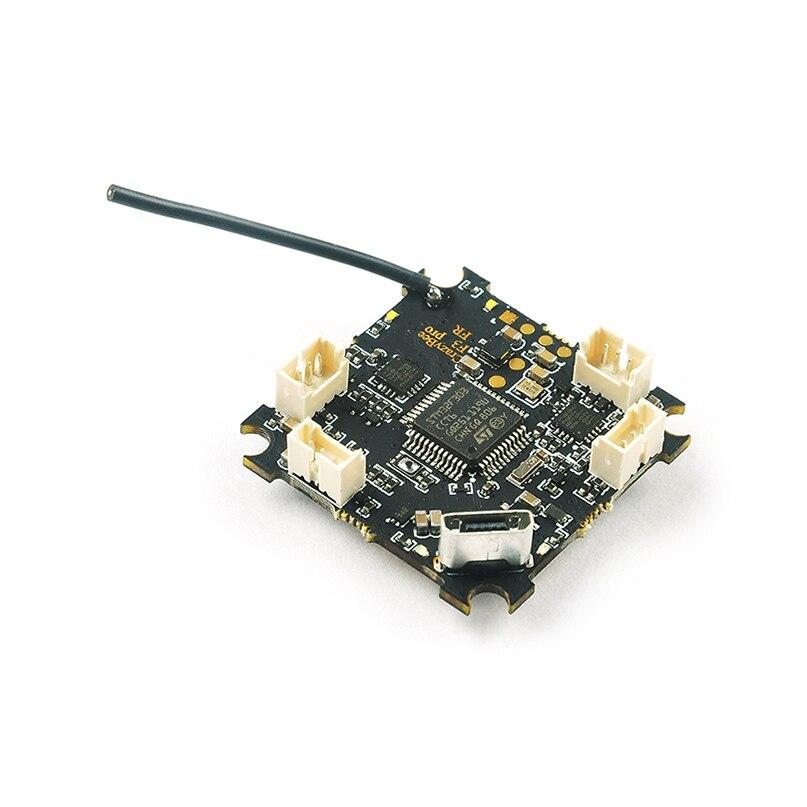 Crazybee F3 Pro Contrôleur de Vol Mobula7 5A 1-2 s ESC Compatible pour Flysky/Frsky/Récepteur pour mobula7 Minuscule BWhoop