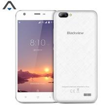Оригинал Blackview A7 3 г смартфон MT6580A Quad Core 1 ГБ Оперативная память 8 ГБ Встроенная память 720 P HD 5 дюймов 2500 мАч Android 7.0 мобильного двойной камерой