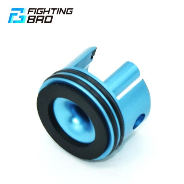 FightingBro Super Silent Cylinder Head CNC For Airsoft Ver.2 Gearbox Paintball M4 AK AEG Air Guns Gel Blaster