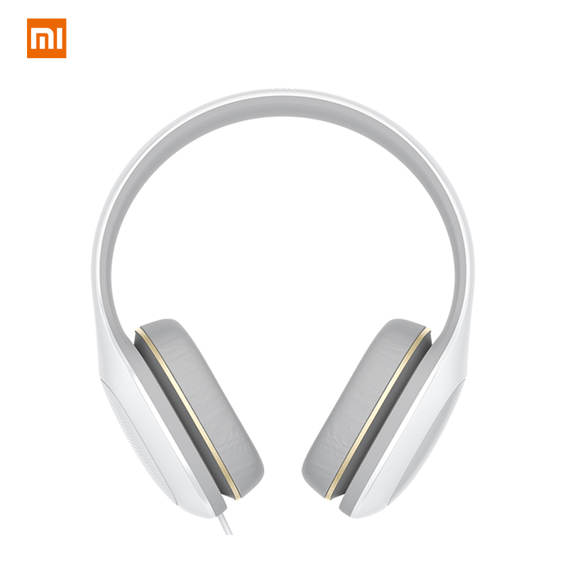 100%Original Xiaomi Mi Headphone Easy Version 3.5mm Wired With Microphone Volume Control Earphone Hands-free Headset 100% original xiaomi mi hybrid dual drivers earphone wired control microphone dynamic and two balanced armature drivers