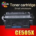Полный многоразового совместимость CE505X 505 505X 05X тонер-картриджа 6500 страниц для HP P2035 P2055 принтеров купить прямой из китая