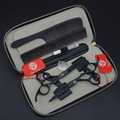 5.5 in. Professional Hair Scissors set,Black Straight & Thinning scissors set,high quality for barbers,S328