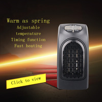 New Handy Heater 400W PTC Heating US Plug 110V EU Plug220V Home Office Heating Stove Electromechanical