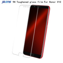 9H Tempered Glass For Huawei Honor View 10 V10 6G+64G Screen Protector High definition Toughened Protective Film smartphone V10 все цены