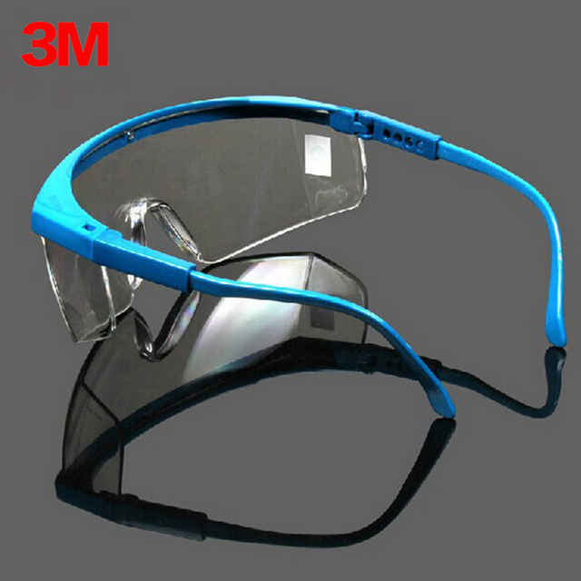 9cffc52a1d14 3M 1711 Safety Glasses Goggles Anti-wind Anti sand Anti Dust Resistant  Transparent Glasses protective eyewear