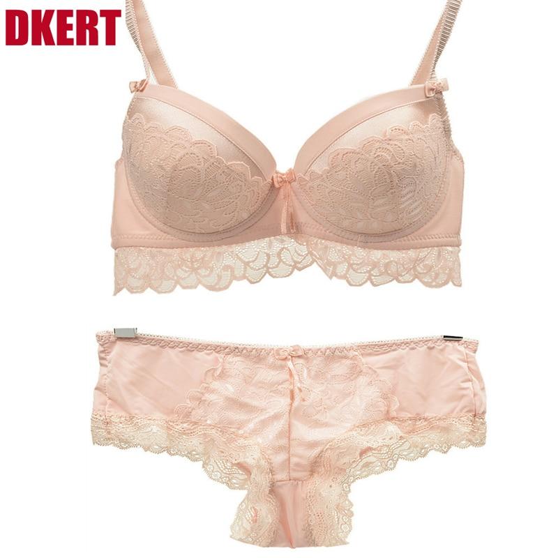 DKERT-ABC-Cup-Elegant-Luxury-Romantic-Bra-Set-For-Women-Trace-Lace-Push-Up-Sexy-Underwear