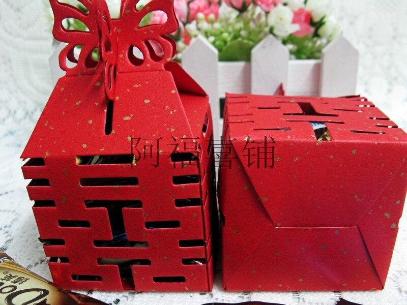 Бесплатная доставка 500 шт./лот Лидер продаж окруженный полого Привет Слово коробка конфет Творческий коробки конфеты коробка конфет Свадьб...