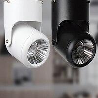 Downlights LEVOU Superfície Montado Downlight CONDUZIU a Iluminação LED Spot Lâmpada Do Teto luz COB 5 W 7 W 12 W 15 W 20 W Ângulo ajustável-10 pçs/lote