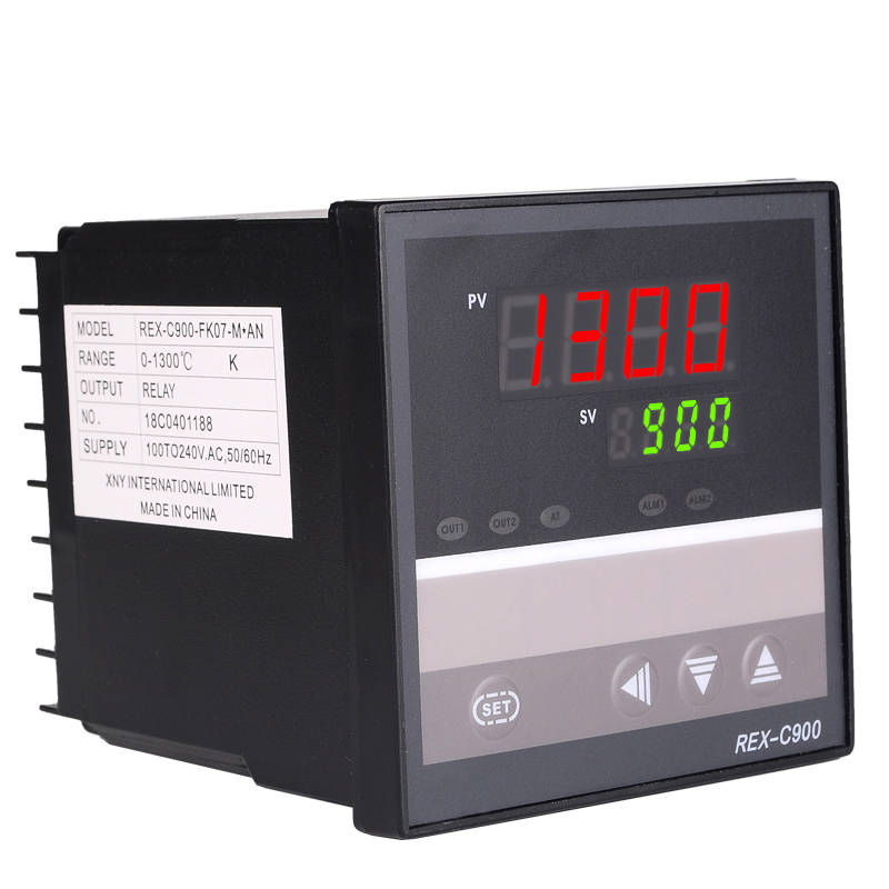 Hot Sales RKC <font><b>PID</b></font> Temperature Controller <font><b>REX</b></font>-<font><b>C900</b></font> Universal Input Relay Output 96*96mm image