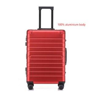 "Image 4 - CARRYLOVE 20 ""24"" 28 ""pouces 100% aluminium magnésium spinner voyage valise trolley bagages roulants pour voyager"