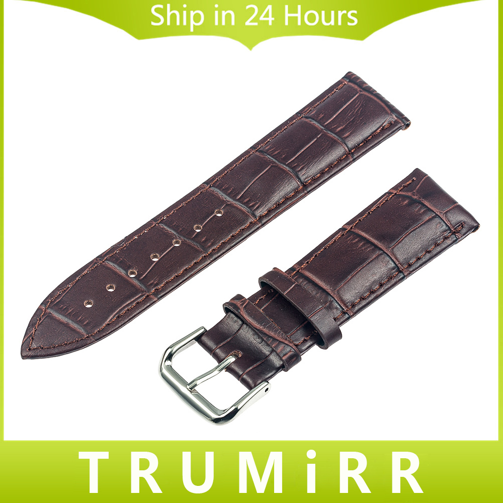 20mm Genuine Leather Watch Band Strap Bracelet for Samsung Gear S2 Classic R7320 & R735 Moto 360 2 42mm Pebble Time Round 20mm hot 22mm white 100% genuine leather watch strap bands for motorola moto 360 smart watch