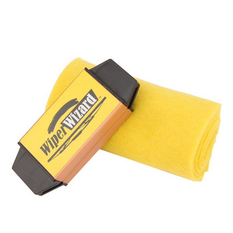 Car Windshield Wiper Blade Wizard Auto Windshield Scratch Restorer Cleaner with Sponge Windscreen Cleaning Blades Repair Tools