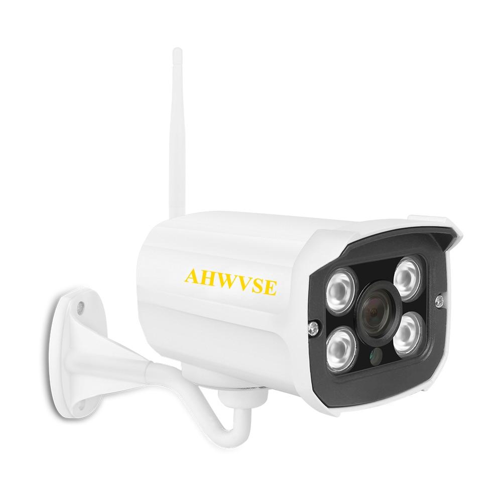 AHWVSE IP Camera 720P/960P/1080P Wifi Indoor/Outdoor Security Wireless CCTV Surveillance Waterproof IP66 Camera Support Yoosee wistino cctv 1080p 960p wifi bullet ip camera outdoor street waterproof wireless surverillance support onvif yoosee black
