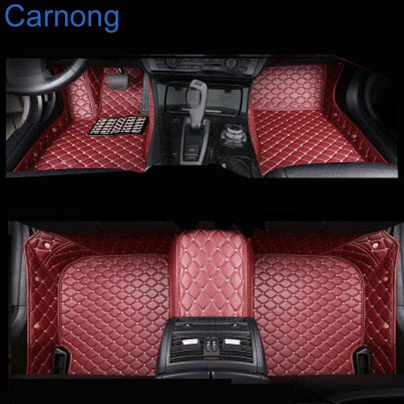 Carnong Car Mat Leather For Audi A5 Quattro Sportback Full