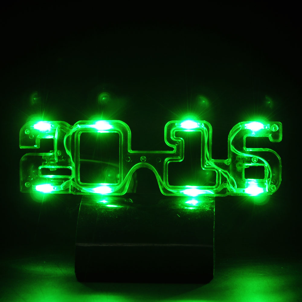 2016 Modeling Glowing Glasses Astigmatism Eyewear For Bars Christmas Party Glowing Toys MFC-005 modeling