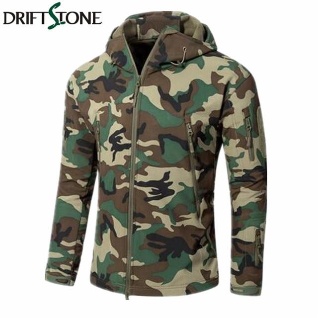 aa334a56bee New Army Jungle Camouflage Coat Military Jacket Waterproof Windbreaker  Raincoat Clothes Army Jacket Men Jackets Coats