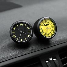 Украшение автомобиля электронный мультфильм метр автомобиль часы авто интерьер орнамент авто часы-наклейка интерьер в автомобиль аксессуар