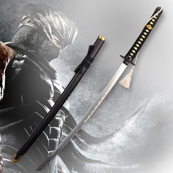 ninja gaiden Samurai sword vintage home decor anime Ginsu knives cosplay Metal Katana