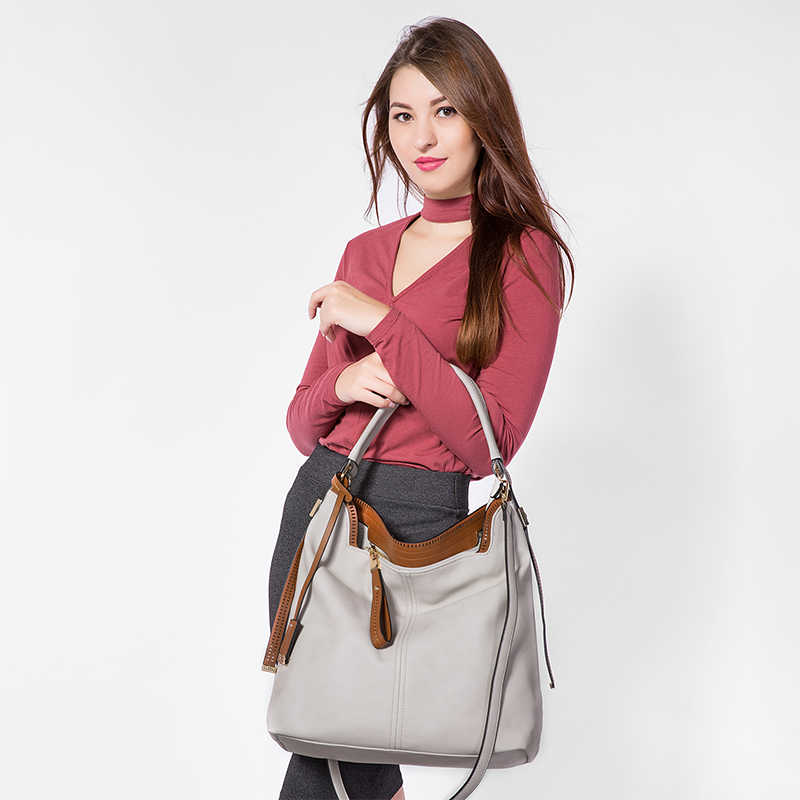 Женская большая сумка на плечо LOVEVOOK, сумка через плечо с регулируемым длинным ремнем для девочек и женщин, наплечная сумка с короткими ручками из искусственной кожи высокого качества, 2019