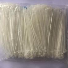 1000pcs 3*60/80/100/120/150 мм фиксированные Пластик обвязки самоблокирующиеся Нейлоновые кабельные стяжки пояс обвязки ремни для проводов высокое качество