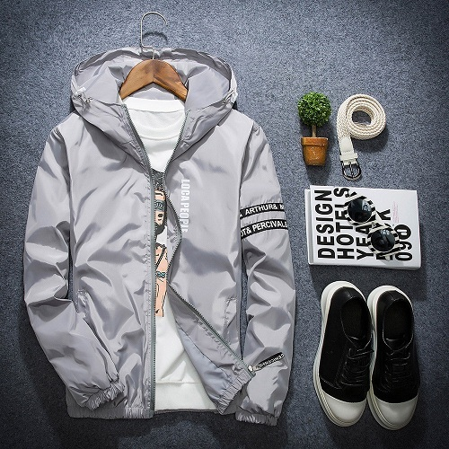 men's colorful hooded jacket sale