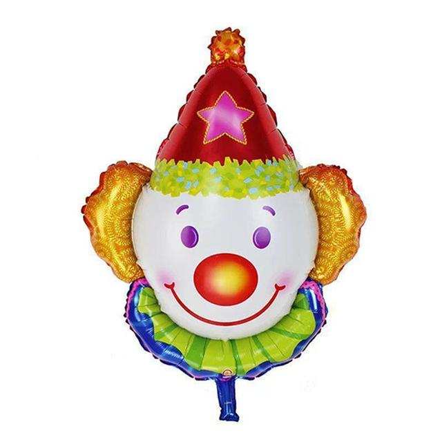 Clown Foil Balloons Children Classic Toys Inflatable Helium Balloon Birthday Air Balloon Balloons Event Party Decoration