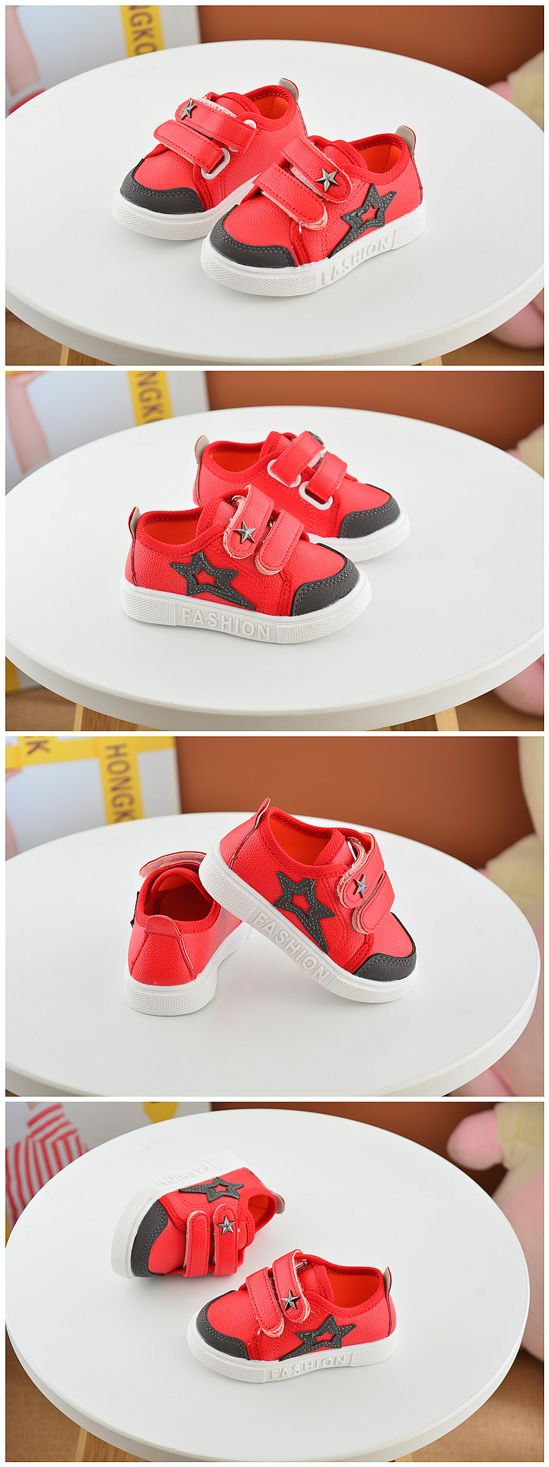 16 New Small Children Canvas Shoes For Kids Baby Boys Canvas Star Shoes Girls Flat Sneakers Low Casual School Students Shoes 4