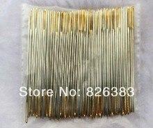 50 pcs/set  across-stitch needles good quality the hole is gold