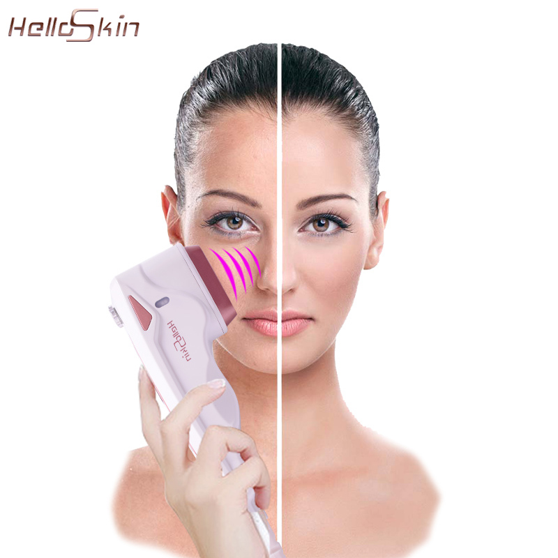 Home Use Hifu Skin Tightening Face Lift Mini Hifu Machine RF Facial Rejuvenation Wrinkle Removal Skin Care Beauty Instrument
