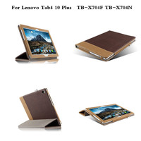Tab4 10 Plus Cover Tablet Fashion Business PU Leather Case For Lenovo Tab 4 10 Plus