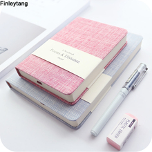 Notebook A5 A6 Original Office Personal Diary/week Planner/agenda Fashion Colorful Blank Horizontal Notepad School Stationery