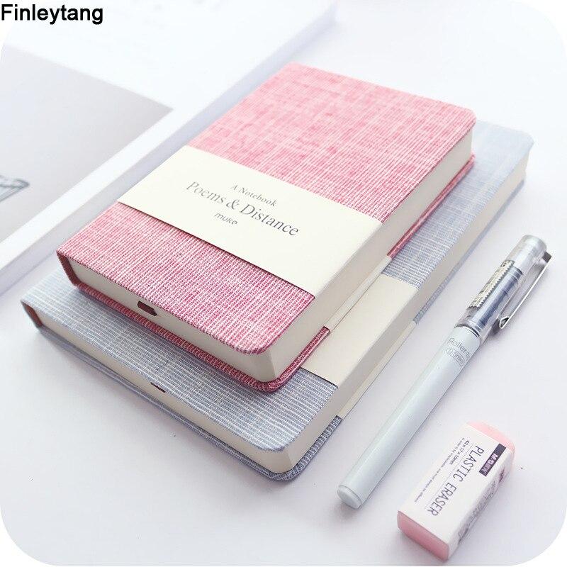 Notebooks Notebook A5 A6 Original Büro Persönliche Tagebuch/woche Planer/agenda Mode Bunte Leere Horizontale Notepad Schule Schreibwaren Seien Sie In Geldangelegenheiten Schlau