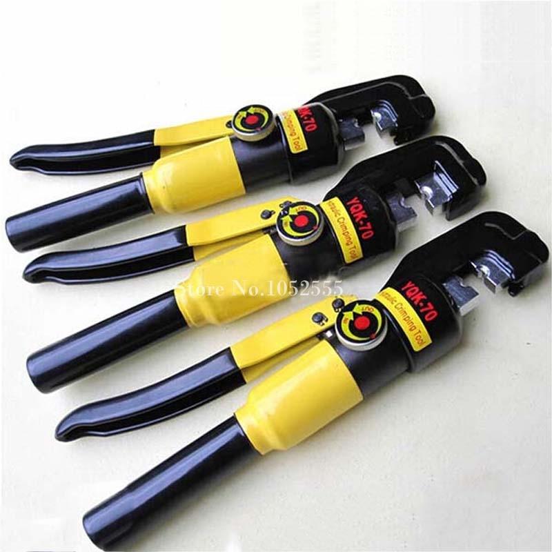 4PCS Hydraulic Crimping Tool Hydraulic Crimping Plier Hydraulic Compression Tool YQK-240 Range 16-240MM2 K38-2 Pressure 12T  цены