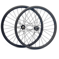 29er Углеродные Диски для горных велосипедов колеса 30x24 мм бескамерная асимметрия hookeless boost 110x15 148x12 столб 1420 спицы колеса горного велосипеда