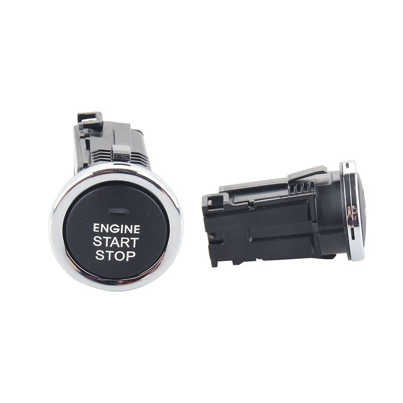 EASYGUARD Replacement push engine start stop button for ec002 series P5 style, blue, light red easyguard pke car alarm system remote engine start stop shock sensor push button start stop window rise up automatically