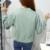 Outono mulheres moda Casual Coréia Harajuku vento solto fino longo-de mangas compridas casaco cardigan para Estudantes