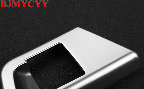 BJMYCYY The ABS electronic hand brake in car decoration sequins For Alfa Romeo Giulia 2017