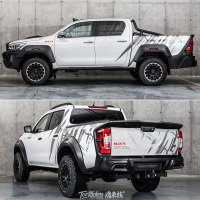 For Toyota Hilux car stickers pull flowers Navara amarok x class pickup body decoration modified car stickers