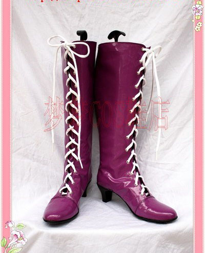 Anime Sailor Moon Sailor Saturn Tomoe Hotaru Cosplay Boots costume shoes Custom Made Halloween Free Shipping