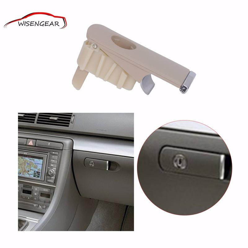Chrome Glove Box Lock Lid Handle  (5)