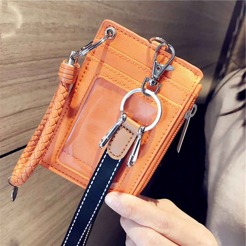 Coin Purses & Holders Smart Shiny Women Card Holder Wallet Id Holders Female Student Cardholder For Lolita Cute Star Transparent Laser Bank Credit Card Case Low Price Luggage & Bags