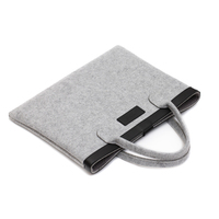 Brand New Wool Felt Laptop Bag Notebook Case Briefcase Handlebag Pouch For Macbook Air Pro Retina