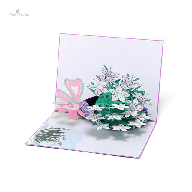 Wedding Invitations Thanksgiving Day Thank You Postcards Laser Cut 3d Pop Up Greeting Cards Marriage Christmas Birthday Gifts