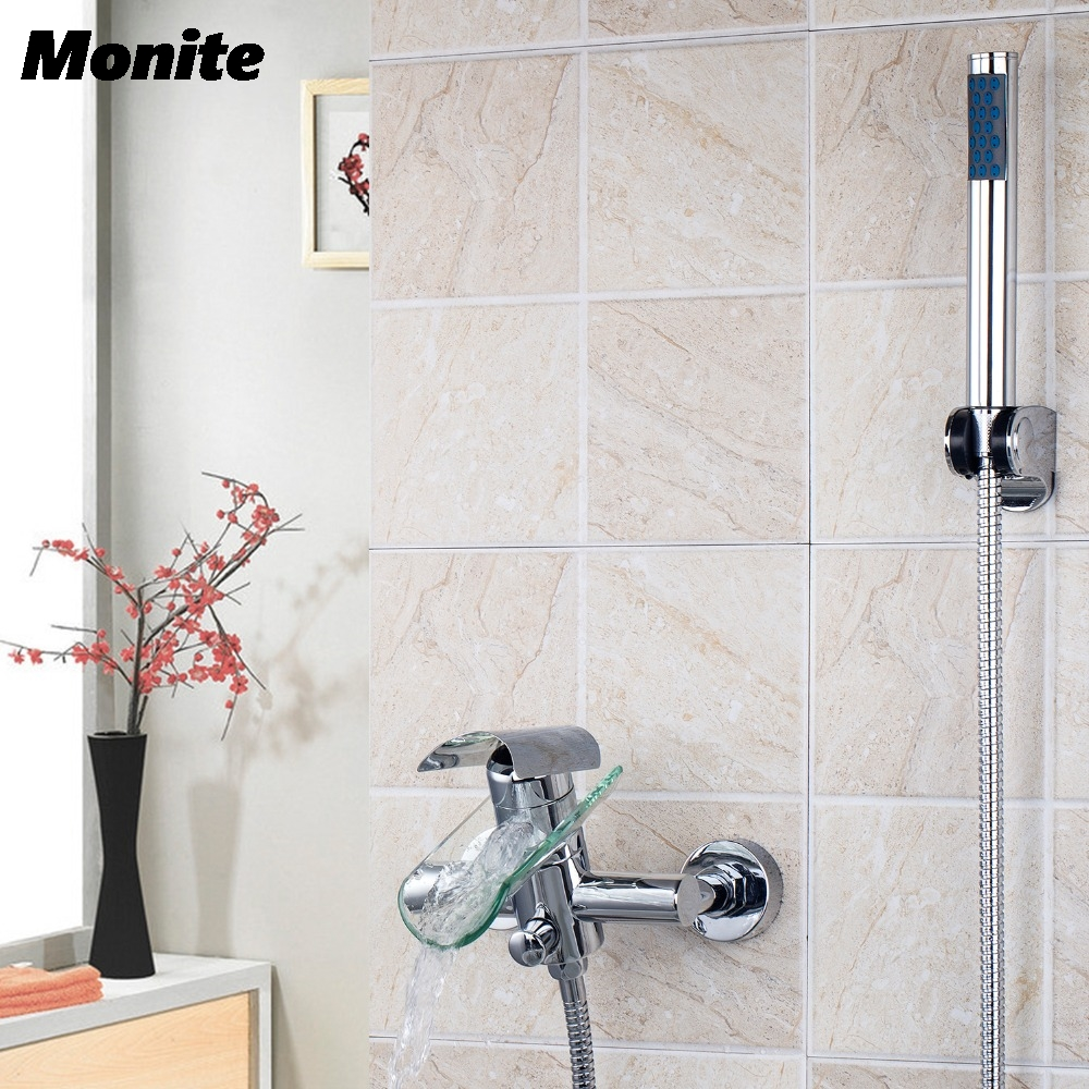 Bathroom Shower Faucet Bath Faucet Mixer Tap With Hand Shower Head Shower Faucets Set gappo classic chrome bathroom shower faucet bath faucet mixer tap with hand shower head set wall mounted g3260