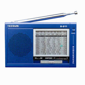 Image 2 - TECSUN R 911 AM/ FM / SM (11 bantları) çok bantlı radyo alıcısı yayın dahili hoparlör ile R911 radyo