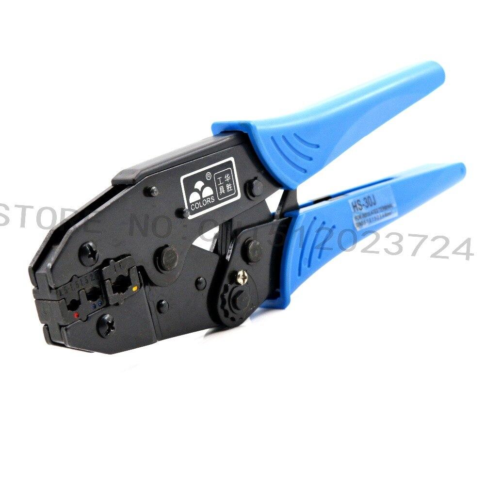 Handwerkzeuge Stetig Linie Drücken Zangen Hs-30j Hülse Zangen Rohrzange Automatische Adjustmen Gelten Zwischen 0,5-6 Platz Millimeter