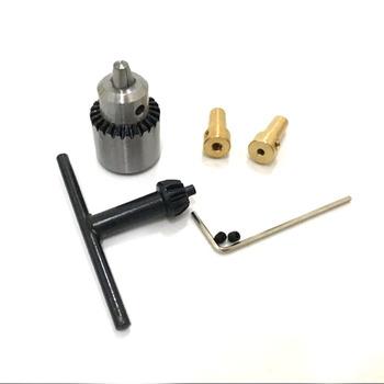 Micro 0 3-4mm Jt0 uchwyty wiertarskie stożkowe JTO uchwyt wiertarski + 2 3mm 3 17mm sprzęgło wału tanie i dobre opinie Elektryczne