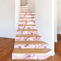 13pcs/set Creative Home Decoration DIY Steps Sticker Removable Stair Stickers Home Decor Modern Style