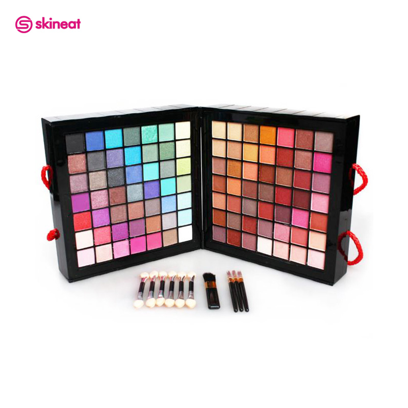 Skineat 177 Color Multi-function Makeup Set Professional Cosmetic Palette Eyeshadow Lip Gloss Blush Pressed Powder Easy to Wear new arrival woman brand cosmetic makeup set multi function make up naked palette eyeshadow palette